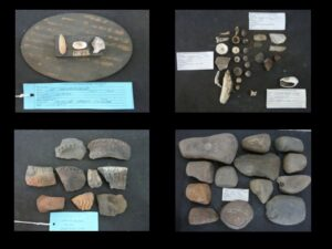 Amostras de artefatos presentes na coleção Salles Cunha – Acervo IAB 1970
